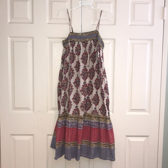 6860e8beed890 Anthropologie Dresses & Skirts - Anthropologie boho maxi dress with  pockets, ...